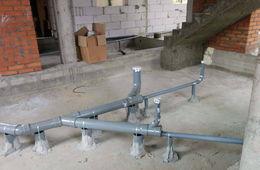 Монтаж канализации в коттедже под ключ Реутов