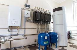 Монтаж системы отопления в коттедже Реутов