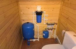 Монтаж водоснабжения в частном доме Реутов