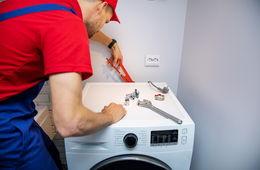 Подключение стиральной машины к коммуникациям Реутов